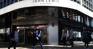 The John Lewis and Partners store in Oxford street, London.