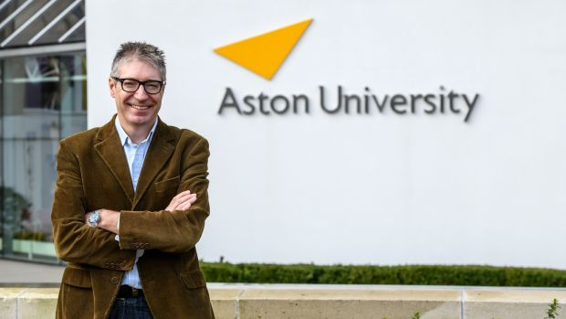 Prof David Bailey at Aston University in Birmingham. 'A no deal would mean a hit of about £3 billion a year to the car industry here.' Photograph: Simon Hadley