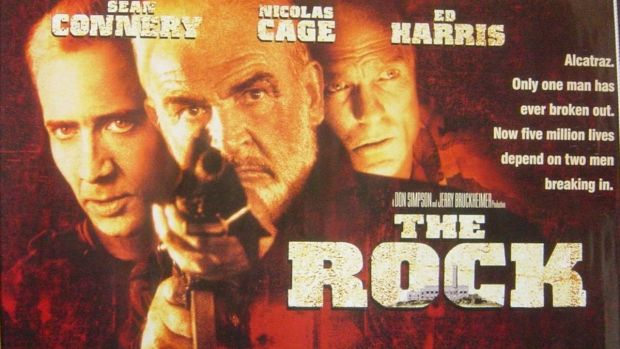 A Hollywood depiction of Alcatraz: The Rock (1996)