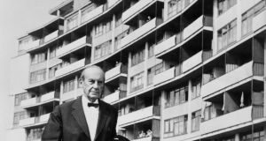 Walter Gropius is often regarded as the arrogant, dour modernist. Photograph: Wolfgang Albrecht/ Getty Images