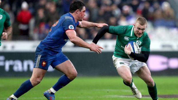 "Keith Earls:""It's all about ourselves. It's about winning the game no matter how you do it."" Photograph: Dan Sheridan/Inpho"