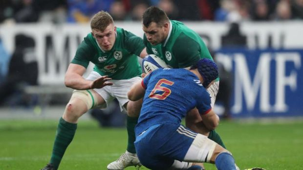 "Cian Healy:""We don't worry about how many tries we are going to score."" Photograph: Billy Stickland/Inpho"