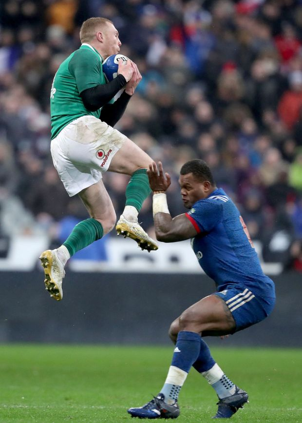 "Keith Earls:""We try and look to see if there is weakness in the team and come up with a move for it."" Photograph: Dan Sheridan/Inpho"