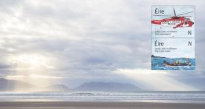 An Post has issued two stamps marking Irish Coast Guard's provision of search, rescue and monitoring services at sea, on the coast and waterways of Ireland. The stamps  are based on an original painting by the late Caitríona Lucas, who  lost her life while volunteering with the Coast Guard on September 12th, 2016.