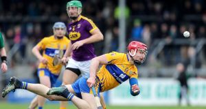 "Clare's John Conlon: ""If he is just out for the four weeks and back then, that could really stand to John for the summer because he got a nice bit of league time under his belt and looked very sharp,"" said Daly. Photograph: Laszlo Geczo/Inpho"