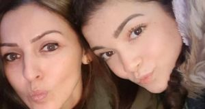 Giselle Marimon-Herrera and her teenage daughter Allison were killed at Glin Ree Court in Newry on Thursday.