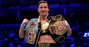 Katie Taylor: trailblazer.  Photograph: Peter Cziborra/Reuters