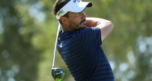 Mike Lorenzo-Vera has a share of the lead in Qatar. Photograph: Warren Little/Getty