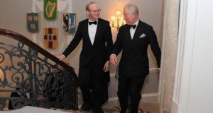Miriam Lord's week: Coveney poetically tightens British ties over dinner