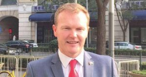 Fianna Fáil Councillor Séamus McGrath: 'I have made this decision for family reasons. Being an MEP would be an enormous honour, but it also comes with a huge impact on family life'