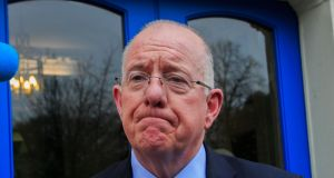 Minister for Justice Charlie Flanagan said Ireland has strong counter-terrorism laws which 'provide for prosecution here of terrorist offences committed outside the State'. Photograph: Gareth Chaney/Collins