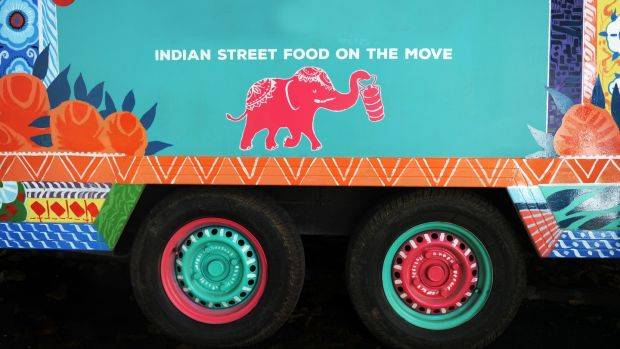 Kerala Kitchen's South Indian food truck.