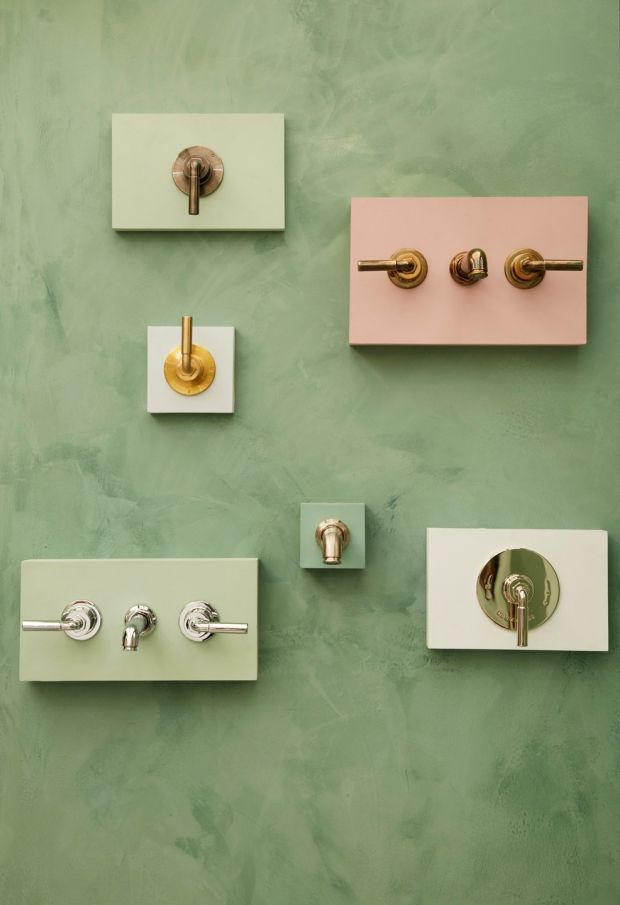 Bestwood shower and tap collection from Drummonds
