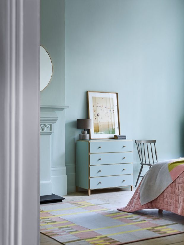 The matching chest of drawers and tallboy, each costs €525 from Habitat