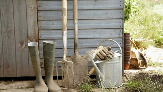 Garden tools get heavy use at this time of year. Photo: Getty