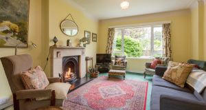 Livingroom at 3 South Hill Park Booterstown Co Dublin