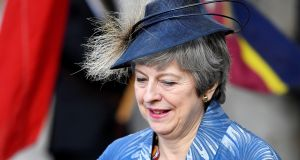 Mrs May's own premiership is effectively over even if she lingers in office a little longer. For months, she has been less a leader than a convener. REUTERS/Toby Melville
