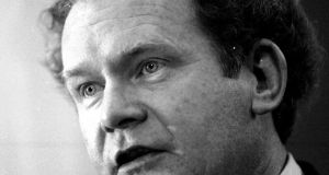 Victims of IRA violence have criticised the city of San Francisco for posthumously honouring Martin McGuinness (pictured) for his 'courageous service in the military'. File photograph: Matt Kavanagh/The Irish Times.