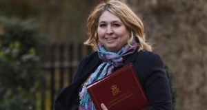 File photograph of Northern Secretary Karen Bradley. Photograph: Stefan Rousseau/PA Wire