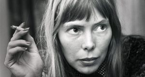 Joni Mitchell put together Morning Glory on the Vine in 1971, the year her album Blue topped charts around the world. File Photograph: Gijsbert Hanekroot/Getty