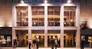 Abbey Theatre: the letter of protest now has the support of 425 theatre workers. Photograph: Ros Kavanagh