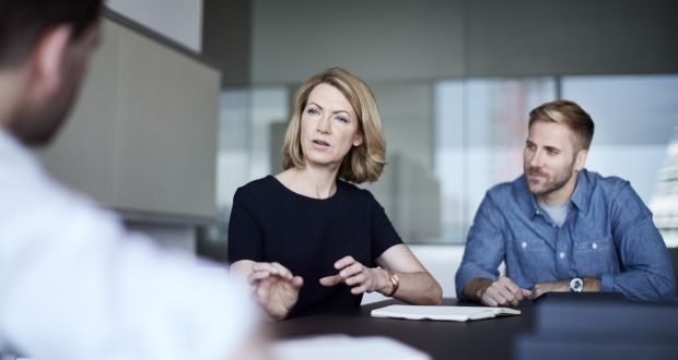 Employees are more satisfied, creative and productive if they can contribute their thoughts and ideas to the achievement of the company goals. Photograph: Getty Images