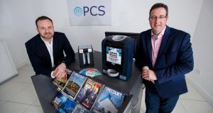 Alan Condron and Aidan Comerford set up Premium Cash Solutions in 2015.