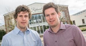 Thomas and James Keogh of the Rathwood home and garden furniture business. The company is expecting turnover of €6.5m this year – 'unless Brexit causes calamity at the end of March'.