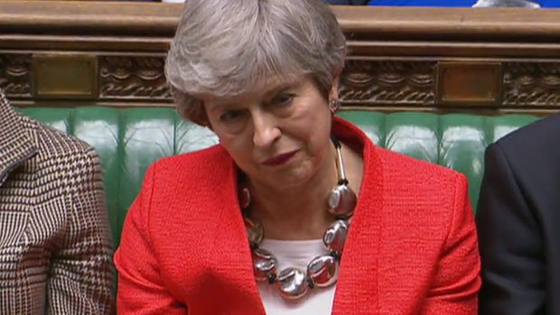 British prime minister Theresa May: The EU was always afraid it would make its concession to Mrs May on her assurances that she could pass the deal, but she would be unable to keep her part of the deal. Video still: EPA