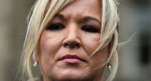 Michelle O'Neill: 'The EU has shown considerable patience and a willingness to facilitate a Brexit agreement that enables Britain to leave the EU without creating a hard border.' Photograph: Clodagh Kilcoyne/Reuters