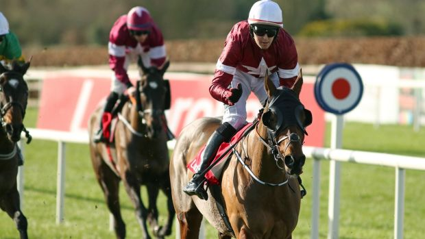 Tiger Roll would prove a popular winner in the Cross-Country. Photograph: Peter Mooney/Inpho