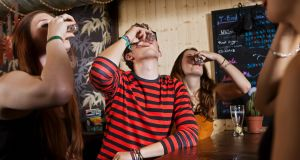 Lancet study: Irish teenage girls had a higher rate of binge drinking than boys. File photograph: Getty