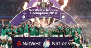 Ireland are the defending Six Nations champions. Photograph: Billy Stickland/Inpho