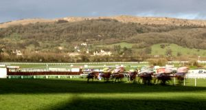The final race of the opening day at Cheltenham saw a number of riding bans handed out. Photgraph: Dan Sheridan/Inpho