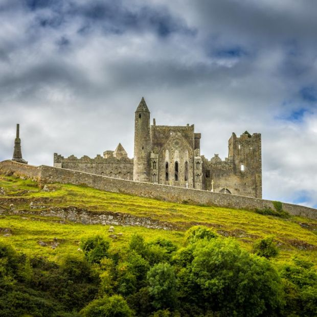 St Patrick's route: the Rock of Cashel. Photograph: iStock/Getty
