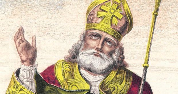 St Patrick: Ireland's patron saint. Illustration: Archive Photos/Getty