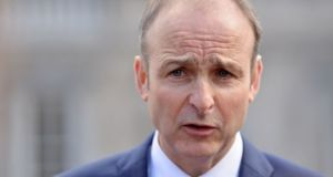 Fianna Fáil leader Micheál Martin said a no-deal Brexit was moving closer and the British announcement of a tariff regime would be devastating to the rural Irish economy. File photograph: Alan Betson