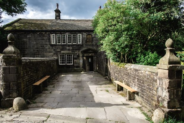 Ponden Hall: inside the building said to be the inspiration for Thrushcross Grange, in Wuthering Heights