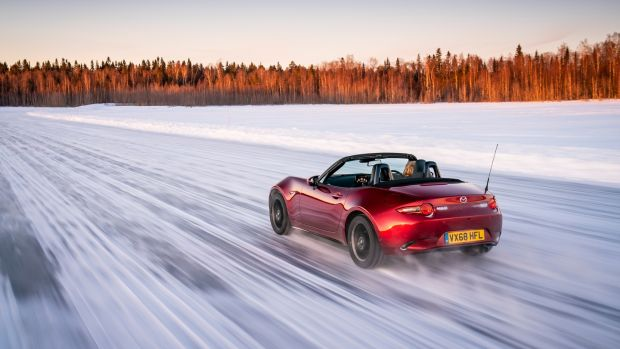 An 860km Journey Through The Arctic In The Mazda Mx 5
