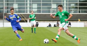 Troy Parrott has been called into the Irish Under-21 squad. Photograph: Andrew Fosker/Inpho