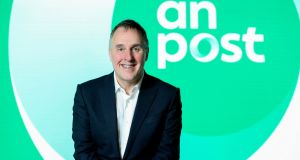 An Post CEO David McRedmond: 'An Post's move into a new world of e-commerce and financial services has delivered great results in 2018.' Photograph: 