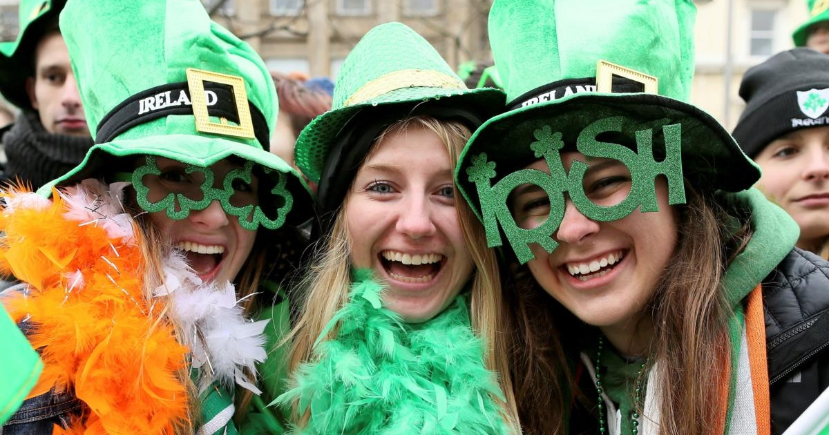 St Patrick's Day: spectators at last year's Dublin parade. Photograph: Paul Faith/AFP/Getty