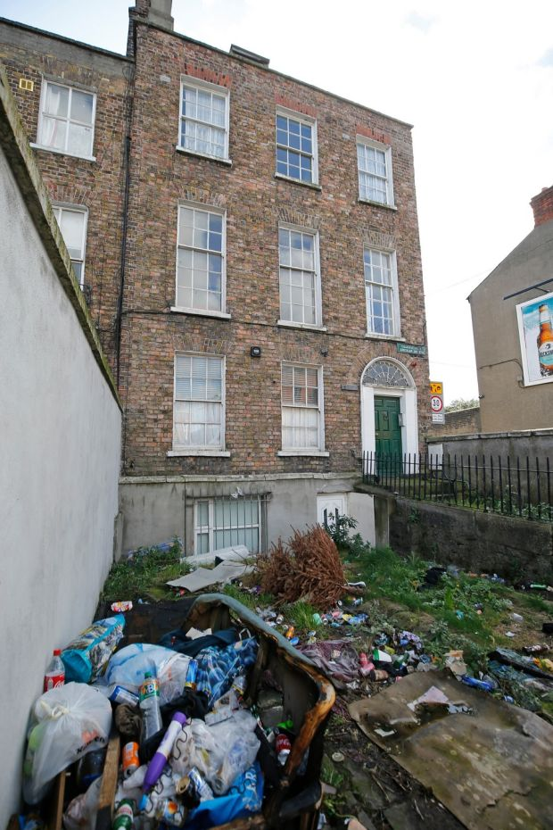 422 North Circular Road, Sean O'Casey's last residence. Photograph: Nick Bradshaw