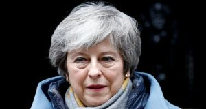 British prime minister Theresa May does have a chance of persuading the 10 DUP MPs to change their minds through actions taken in London rather than on the continent. Photograph: Reuters/Henry Nicholls