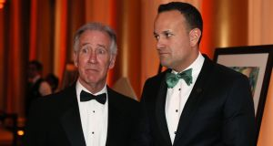 Taoiseach tiptoes through minefield without saying anything controversial