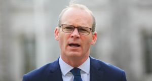 Tánaiste and Minister for Foreign Affairs and Trade Simon Coveney said the legislation was not about empowering Ministers to introduce new legislation, but about protecting existing legislation. Photograph: Gareth Chaney/Collins