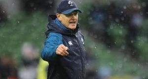 Joe Schmidt is going into his final Six Nations match as Ireland coach. Photograph: Lorraine O'Sullivan/Inpho