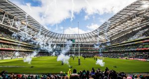 The Aviva Stadium could host both Champions Cup semi-finals. Photograph: Ryan Byrne/Inpho