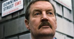 The late Ray McAnally as the left-wing prime minister Harry Perkins in the TV adaptation of A Very British Coup