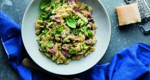 Bacon and cabbage? Try matching it with orzo pasta